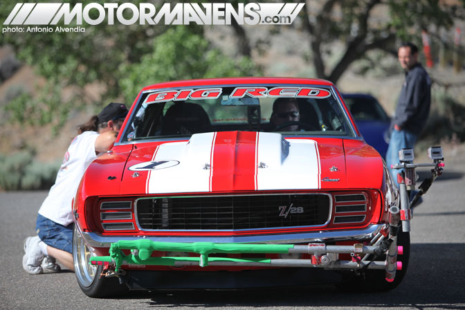 Big Red Camaro Z28 Spectre 341 Virginia City Hillclimb NV