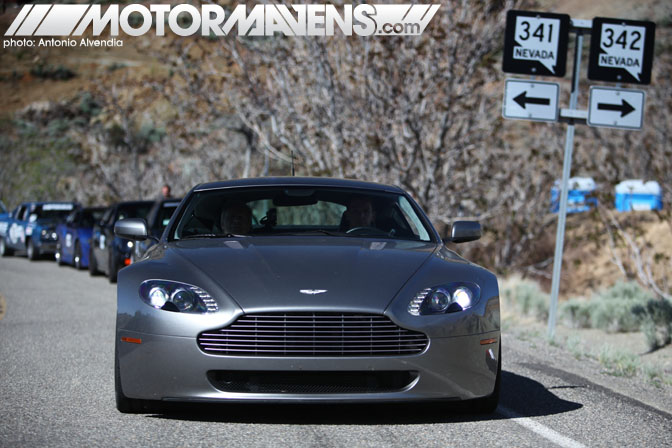 Aston Martin V8 Vantage Spectre 341 Virginia City Hillclimb NV