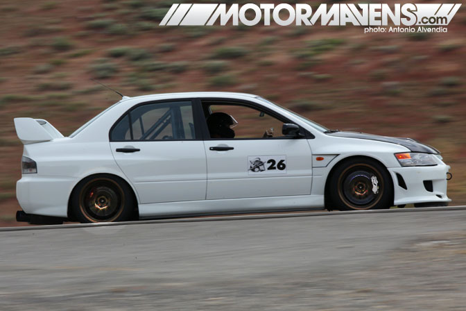Jeremy Kappus Mitsubishi Lancer Evolution IX 9 RS Spectre 341 Virginia City Hillclimb NV