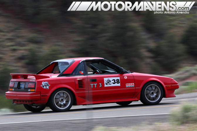 Thomas Berndt AW11 Supercharged MR2 4AGZE 3SGTE Spectre 341 Virginia City Hillclimb NV