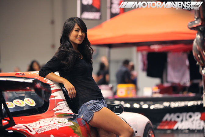 SpoCom Tour 2011 Anaheim Convention Center Apex USA FD3S D1GP RX7 Vivian