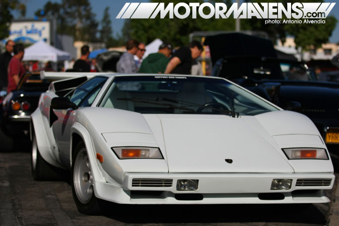 Lamborghini Countach Supercar Sunday Woodland Hills