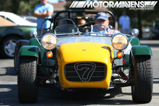 Lotus Caterham Super Seven 7 Supercar Sunday Woodland Hills