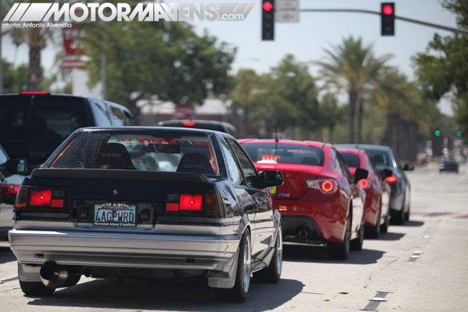 Scion FRS Longo Tour of LA Drive Subaru BRZ FR-S AE86 FRS86