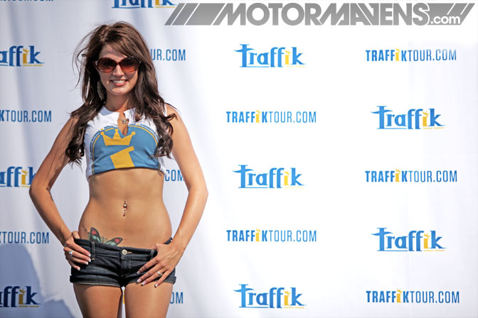 Halie Gibbs Tilted Kilt Traffik Tour Dallas Texas Motor Speedway Ultimate Drifting Formula Drift demo Hozman Group Indy IRL
