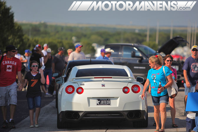 Jotech R35 GTR Traffik Tour Dallas Texas Motor Speedway Ultimate Drifting Formula Drift demo Hozman Group Indy IRL