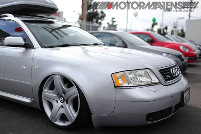 Audi A4 Ecoshine Auto detailing Mitch Sison Volkswagen dealer VW Van Nuys Wustefest Brandon Chasin 