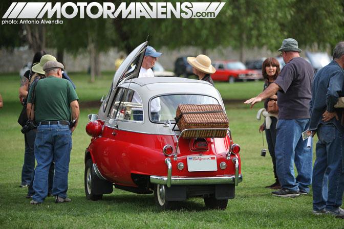 Vintage BMW Isetta Festival BMWCCA Woodley Park Van Nuys