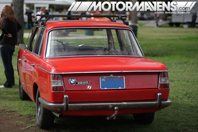Vintage BMW 1800 Festival BMWCCA Woodley Park Van Nuys