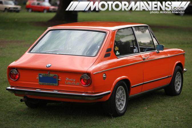 Vintage BMW 1802 touring Festival BMWCCA Woodley Park Van Nuys