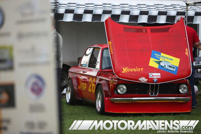 Vintage BMW 2002 KGB Racing Steve Kupper Festival BMWCCA Woodley Park Van Nuys