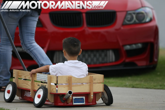 Radio Flyer wagon Wekfest Los Angeles Long Beach Queen Mary Weksos Hellaflush Slammed Society
