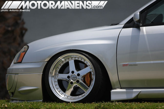 Work Equip Subaru Impreza WRX STi Wekfest Los Angeles Long Beach Queen Mary Weksos Hellaflush Slammed Society