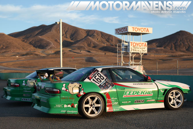 Charlie Ongsingco Mike Bolanos Federal Tire S13 Just Drift Willow Streets