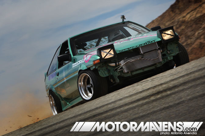 Sr20DET AE86 Just Drift All Star Bash drifting festival