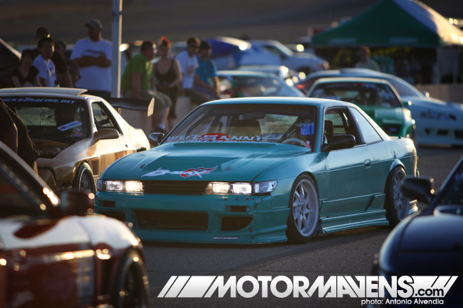 Teddy S13 Silvia Just Drift All Star Bash drifting festival