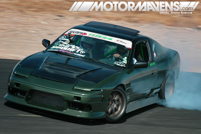 RPS13 180SX Mickey Frial 240SX S13 Just Drift All Star Bash drifting festival