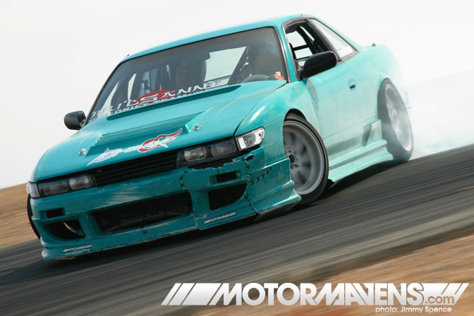 S13 Silvia Horse Thief Mile Mulsanne Just Drift All Star Bash drifting festival