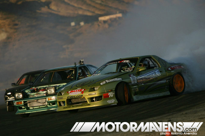 FC3S AE86 Just Drift All Star Bash tandem drifting festival