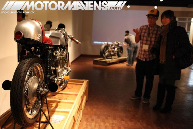 Zen Garage Giant Robot Eric Nakamura Len Higa Shinya Kimura chopper cafe racer Japanese American National Museum