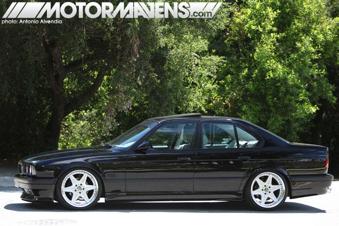 BMW E34 Work 525i Work Wheels AC Schnitzer