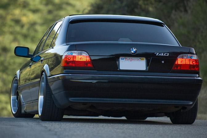 BMW E38 740iL slammed VIP sedan Bimmerfest