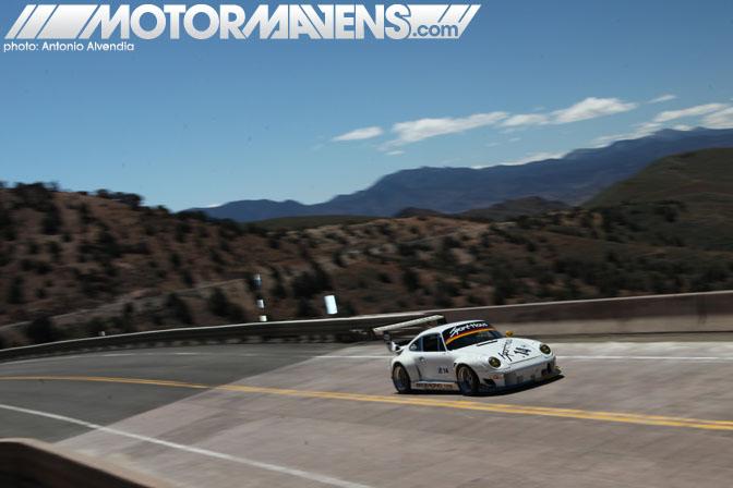 Duck Fuson Porsche 911 1974 Turbo 993 Facelift Sporthaus Rennsport Reno Highway 341 Hillclimb