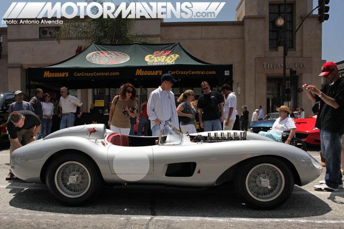 Bruce Meyer Ferrari 625 TR Concorso Ferrari Pasadena CA