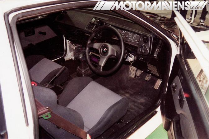 keiichi, tsuchiya, cipher garage, AE86 TRD Japan, tokyo auto salon, TAS 1999