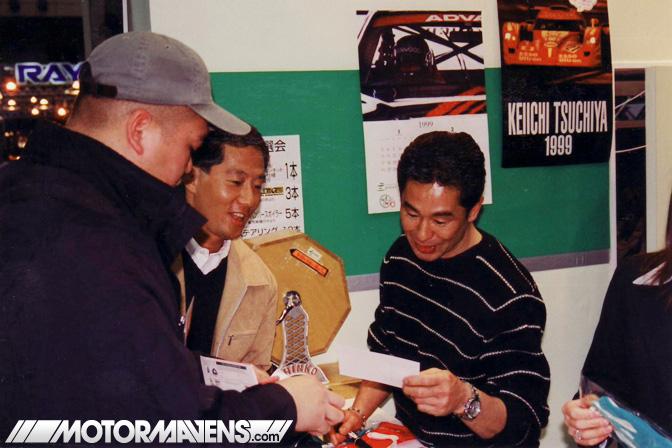 keiichi, tsuchiya, cipher garage, AE86, tokyo auto salon, TAS 1999