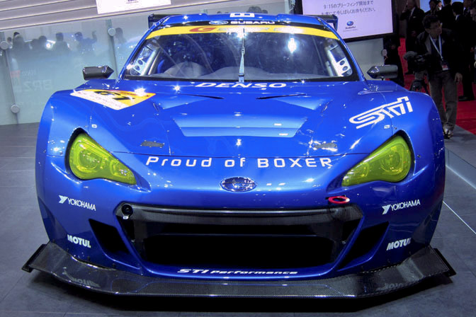 Subaru BRZ GT300 Super GT Race car Tokyo Motor Show FT86 GT86 FRS JGTC