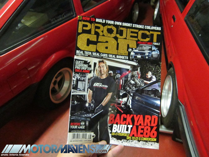 Project Car Magazine AE86 Special with Taka Aono Corolla Drifter