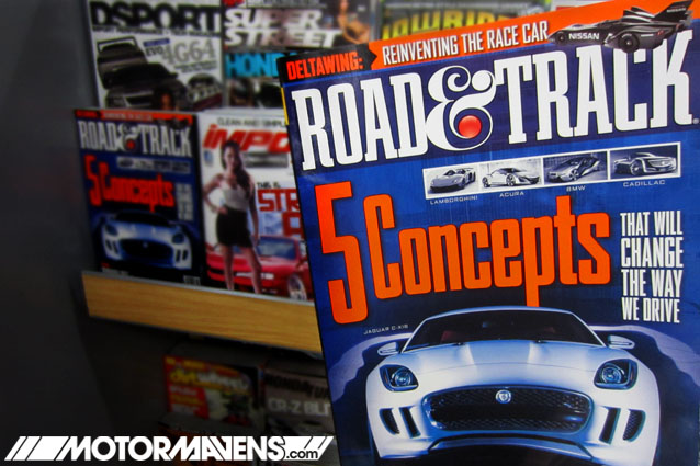 Road&amp;Track Road and Track Magazine shuts down shutting closing closes doors last issue