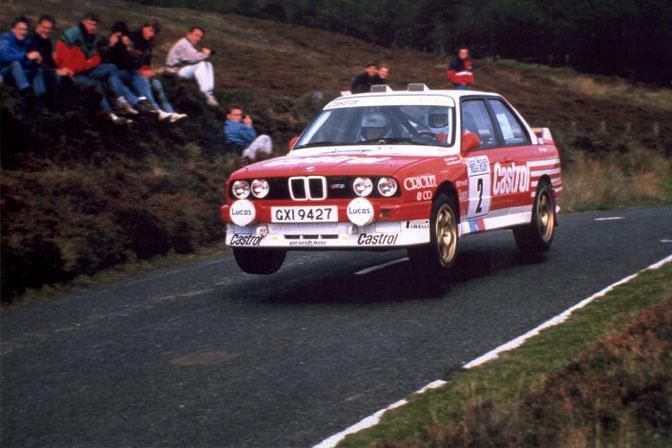 Patrick Snijers Prodrive BMW E30 M3 Manx Rally Isle of Man 1988 Castrol Snyers