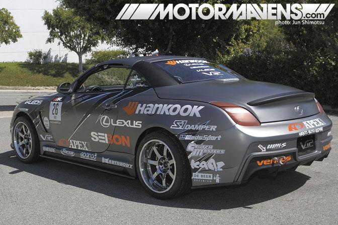 Apex'i, Apex, Integration, A'pex, Lexus, SC430, Ryuji Miki, Formula Drift, drifting,