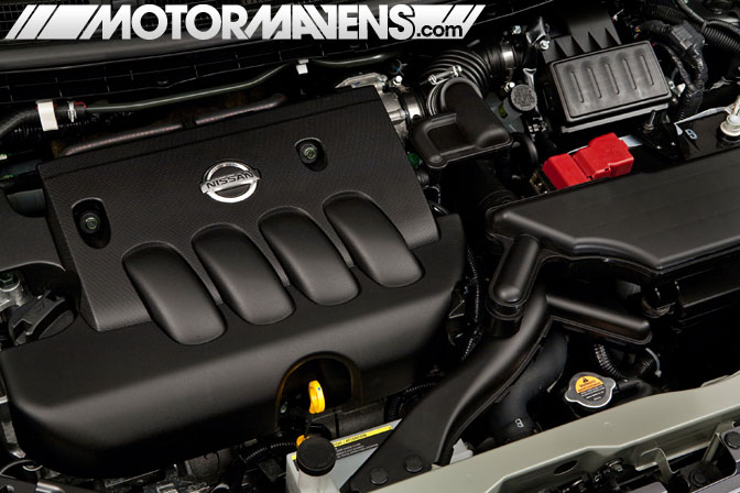 Nissan Cube krom engine