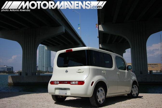 Nissan Cube krom Miami 2009