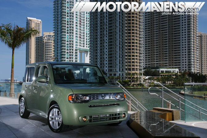 2009 Nissan Cube Miami Epic Hotel Biscayne waterfront