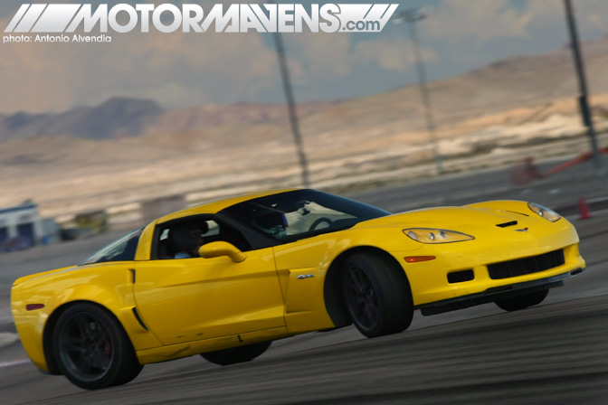 Ride along Corvette Z06 MikeBomac Mike Bolanos Exotics Racing Las Vegas Motor Speedway Supercar Sports Car Race Track Test Drive Experience