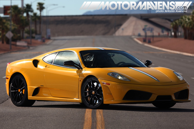 Ferrari F430 Scuderia Exotics Racing Las Vegas Motor Speedway Supercar Sports Car Race Track Test Drive Experience