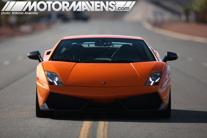 Lamborghini Gallardo Superleggera Exotics Racing Las Vegas Motor Speedway Supercar Sports Car Race Track Test Drive Experience