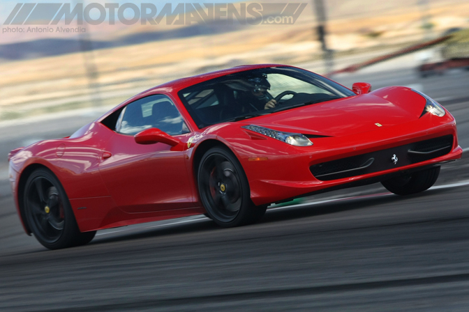 Ferrari 458 Italia Exotics Racing Las Vegas Motor Speedway Supercar Sports Car Race Track Test Drive Experience