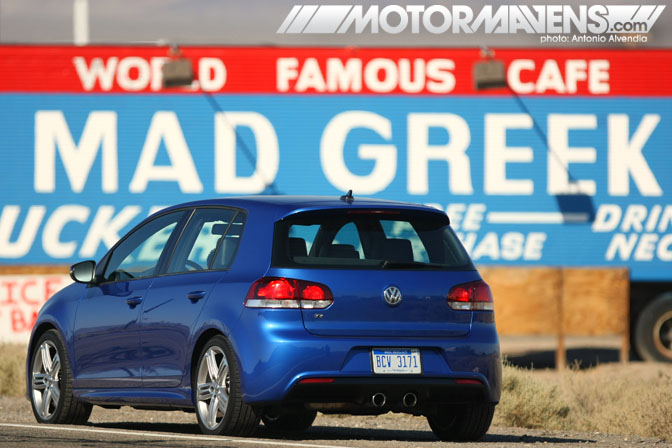 Golf R Volkswagen VW 2012 all wheel drive AWD turbo review Mad Greek Baker