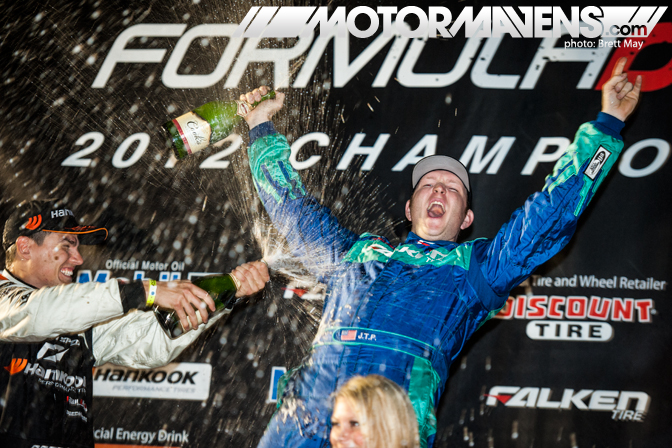Justin Pawlak Falken Tire Ford Mustang Road Atlanta Formula Drift Champion