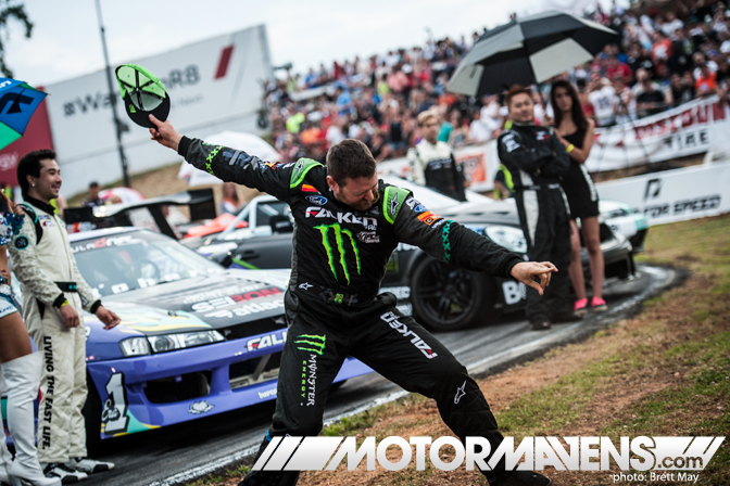 Formula Drift Round 2 Road Atlanta Vaughn Gittin Jr Falken Tire ASD