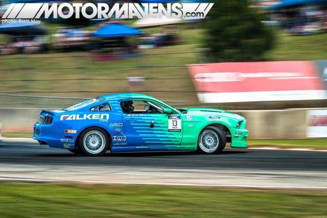Justin Pawlak JTP Round 2 Road Atlanta Ford Mustang Falken Tire HRE Whels ASD