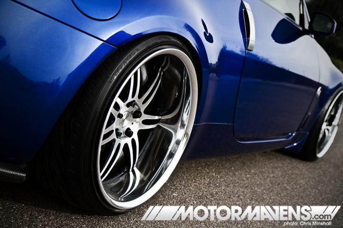 Nissan 350z 19 Inch Wheels 350z Z33 Nissan Work Wheels