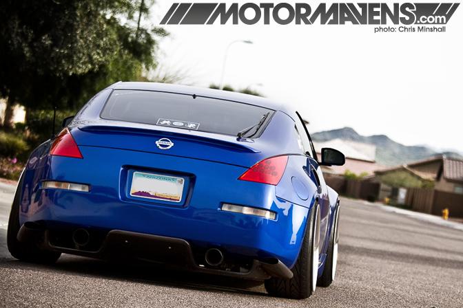 350z, Z33, Nissan, work wheels, work, t1s, varianza, negative offset, ksport, greddy, veilside, motordyne, mastergrade, toyo, luxer1