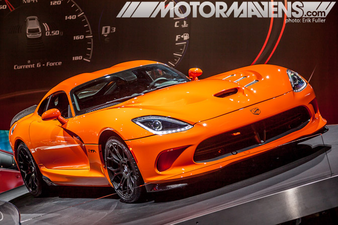 Dodge Viper TA 2014 NYIAS 2013 New York