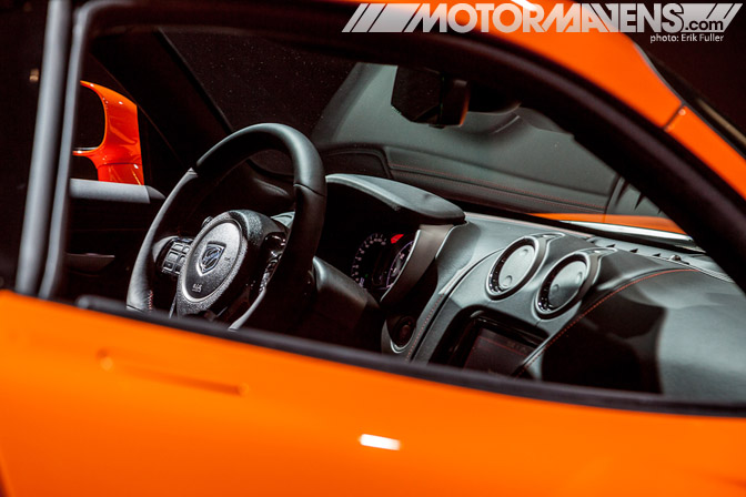 Dodge Viper TA interior steering wheel 2014 NYIAS 2013 New York